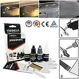 Visbella scratch kit di riparazione per auto, 7Second Fast Dry Glue rinforzo adesivo Speedy Fix auto riparazione stucco per legno, metallo, in acciaio e plastica, gomma in ceramica