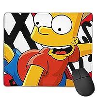 マウスパッド シンプソン一家、The Simpsons キーボードパッド ゲーミング マウスパッド 3d柄プリント パソコン 周辺機器 防水 滑り止め 耐久性が良い 高級感 えるマウスパッド