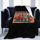 maichengxuan Manta con logotipo de Mars Volta con impresión digital de microfibra suave, cálida, ligera, versátil para todas las estaciones, perfecta para sofá de cama de 50 pulgadas x40