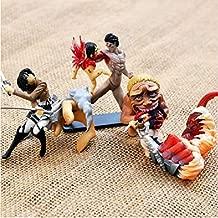 4pcs/Set 5-8cm (2-3.1 inch) Attack ON Titan Mini Figure Set