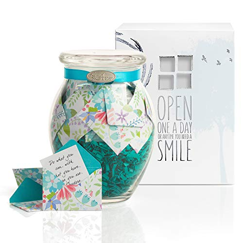 Glass Keepsake Gift Jar With Sympathy Messages