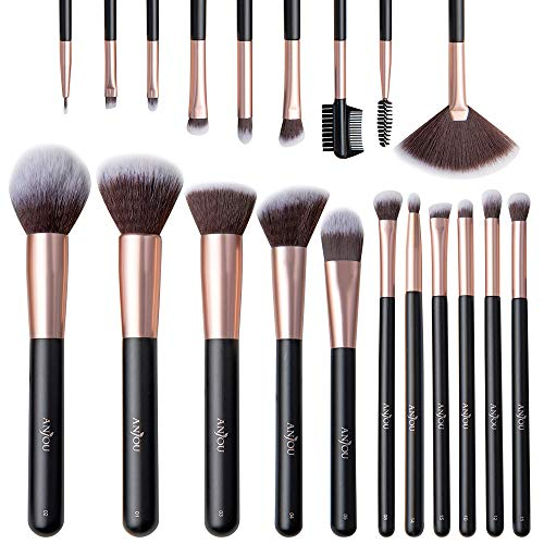 Anjou Pennelli Make Up 20 Pezzi Set di