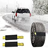 Best Snow Chains - ASMSW Anti-Skid Car Tire Traction Blocks Emergency Snow Review