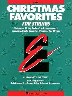 Essential Elements Christmas Favorites for Strings: Viola