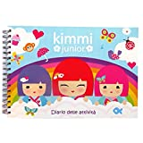 Kimmi Junior - Grand Album de l'activité - 134 pages - Coloriages, Dessins, Autocollants Feuilles et Activités - Taille 216mm x 320mm