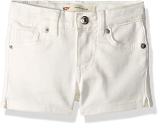 Levi's Girls' Soft Brushed Shorty Shorts