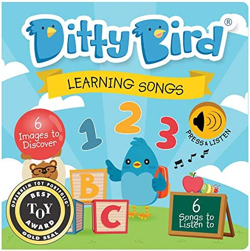 DITTY BIRD Baby Sound Book Our Learning Songs Musical Book for Babies is The Perfect Toys for product image