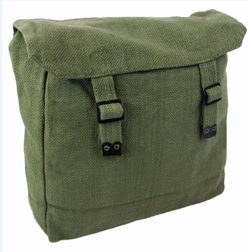 Mens Army Combat Military Haversack Rucksack Travel Day Bag Pack Canvas Backpack