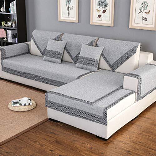 Katoenen Sofa/Anti-slip Woonkamer, Vier Seizoenen, Eenvoudige en Moderne Slaapbank Handdoek/Volledige Cover Lederen Sofa Set/Sofa Handdoek