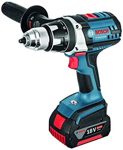 Bosch Professional Perceuse-visseuse Sans-Fil GSR 18 VE-2-Li (2 batteries 4,0Ah, L-BOXX)