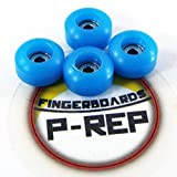 Peoples Republic P-REP Fingerboard CNC Lathed Bearing Wheels - Sky Blue