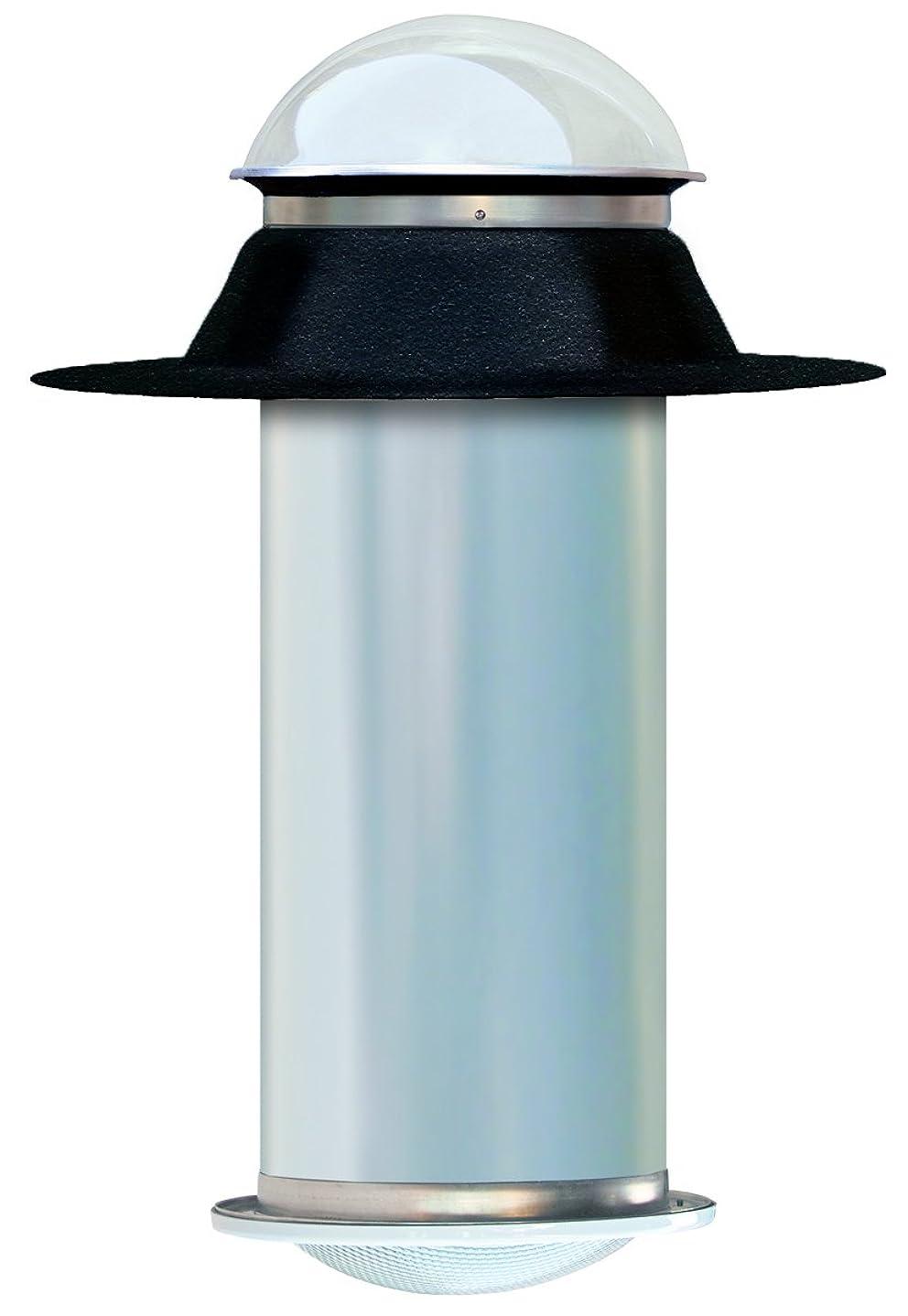 最小男らしい酸素13インチチューブラースカイライトキット フラットルーフ用 説明書付き