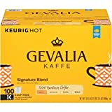 Gevalia Signature Blend Mild Roast K-Cup Coffee Pods (100 Pods)