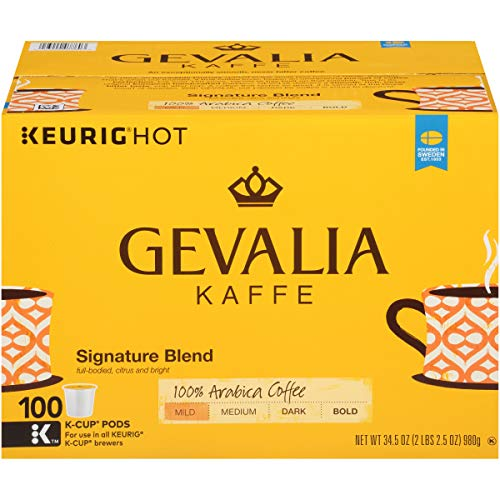 Up to 47% Off K Cup Pods and Coffee Brands ~ Gevalia Keurig K Cup Pods 100 Ct $26.59 **Today Only**