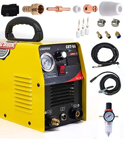 ラズマ切断機 プラズマカッター cut50 プラズマ切断機 最大切断厚14mm 100v/200v兼用 家庭用 素人が使えます