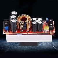 ファンを備えた10-60Vから12-90VのDC-DCブーストコンバーター頑丈で安定した1500W30Aステップアップ電源モジュール高出力LEDモーター用のヘビーデューティーエレクトロニクス