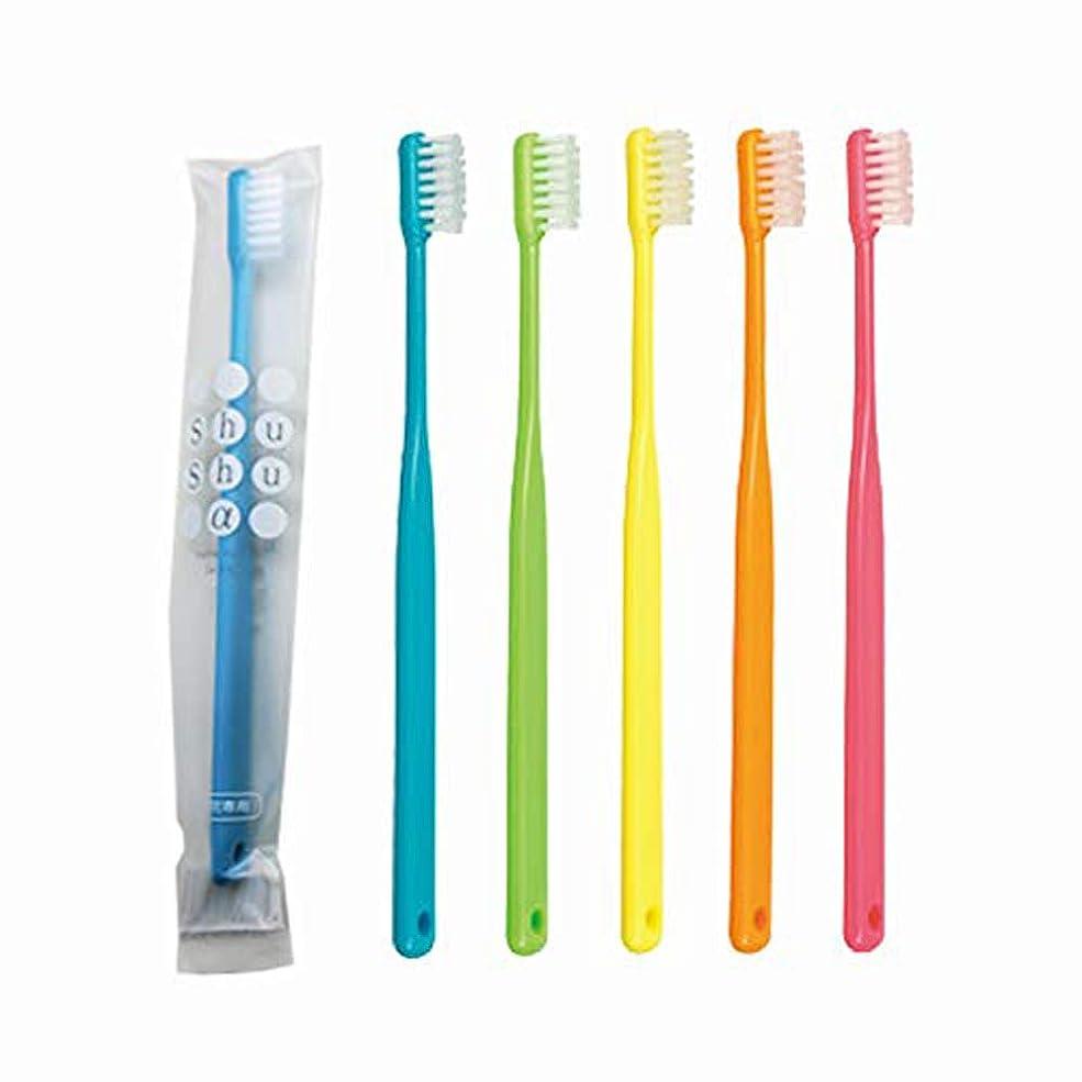 ファシズム乳製品潜む歯科専売品 大人用歯ブラシ FEED Shu Shu α(シュシュアルファ)×20本 S (やわらかめ)