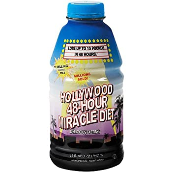 Hollywood 48-Hour Miracle Diet - The Original Juice Cleanse  Pack of 4