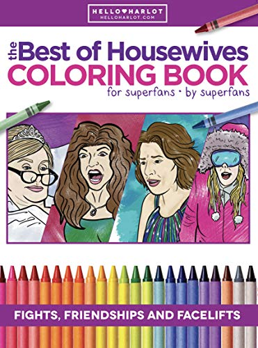 Best of Real Housewives Adult Coloring Book | Coloring Books | Bravo Fan Gift | All Cities