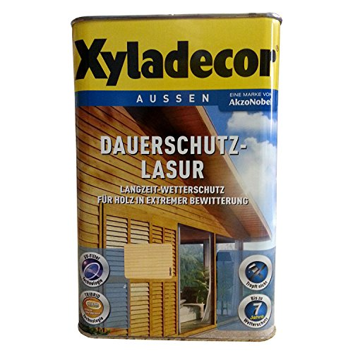 Xyladecor Dauerschutz-Lasur kastanie 4 Liter