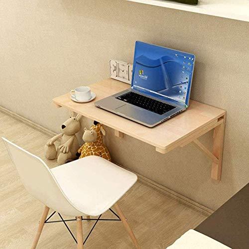 Wandregal Schweberegal Holz, Klappbarer Wandtisch Einfach Und Modern Wird Verwendet, Um Schlafzimmer, Küche, Wohnzimmer, Arbeitszimmer Zu Dekorieren,80x60cm