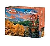 America the Beautiful, Scenic 2022 Box Calendar, Daily Desktop