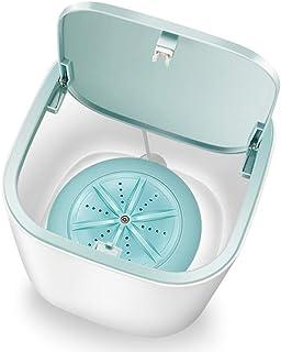 Mini Washing Machine Laundry Barrel Washer Underwear Socks Washer Portable Personal Rotating Ultrasonic Turbine Washer Con...