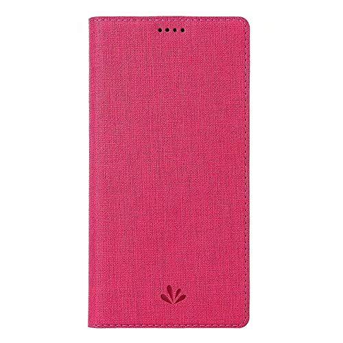 Xingyue Aile Hoezen & Hoezen Voor Motorola Moto One / P30 Play, Met Naam Kaart, Met De Magneet Flip, Met Ondersteuning Functie, Met Stitching, Met Smart Functie, Schokbestendige Bescherming Hoesje, roze