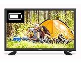 Cello C32277T2-S1 32HD Ready Traveler LED TV 1366 x 768 Negro 2X HDMI y 4X USB VESA Wall Mount 100 x 100 mm :: (TV & Audio  Televisiones)