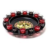Roulette Trinkspiel Set mit 16 Schnapsgläsern