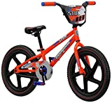 Mongoose Stun Freestyle BMX Bike for Kids, 18-Inch Wheels, Blue/Orange