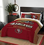 Northwest NFL San Francisco 49ers Draft Full/Queen Bedding Comforter Set
