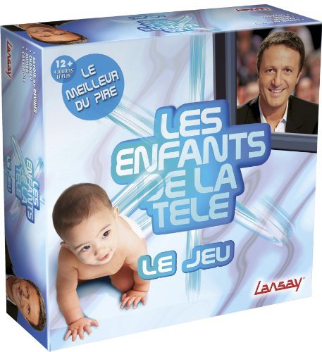 Lansay - 75011 - Jeux De Société - Les Enfants De La Tele