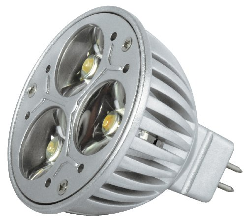 Transmedia LP1-33FQL Power Spot LED 12 V 3,5 W GU10 Blanc Chaud