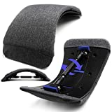 Upgraded Back Stretcher for Back Pain Relief / Sciatica Pain Relief / No Limited Height Level Back Massager / Cushion Pad + Pain-Free Massage Points / All-in-One Spine Deck