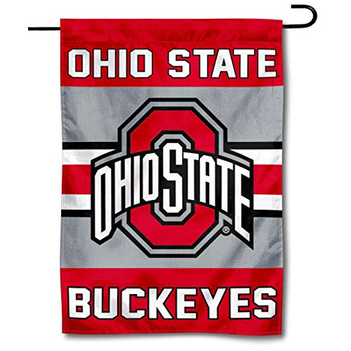 College Flags & Banners Co. Ohio State Buckeyes Garden Flag
