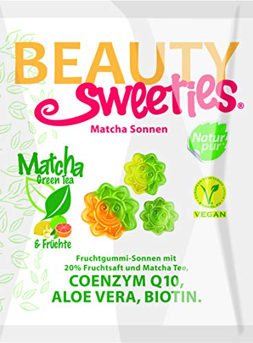BeautySweeties Matcha-Sonnen, 125 g