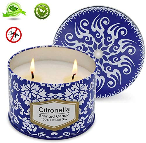 AIMASI Citronella Candles 8.5 Oz Eco-Friendly Natural...