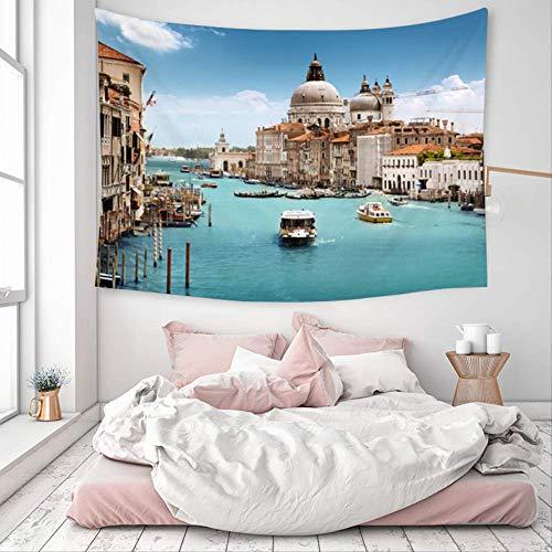 JKCKHA Antideslizante Manta de área de Soft Mat Cubierta de la Alfombra de Moda Luna Moderno Bus turístico Decoración Tapiz Colgante de Pared de la Playa del mantón Toalla