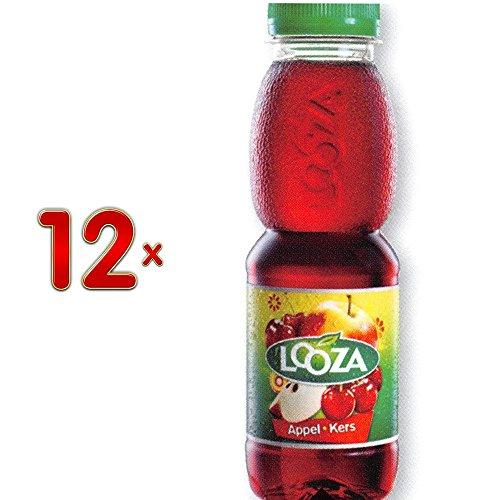 Looza Appel-Kers PET 12 x 330 ml Flasche (Apfel-Kirsch-Saft)