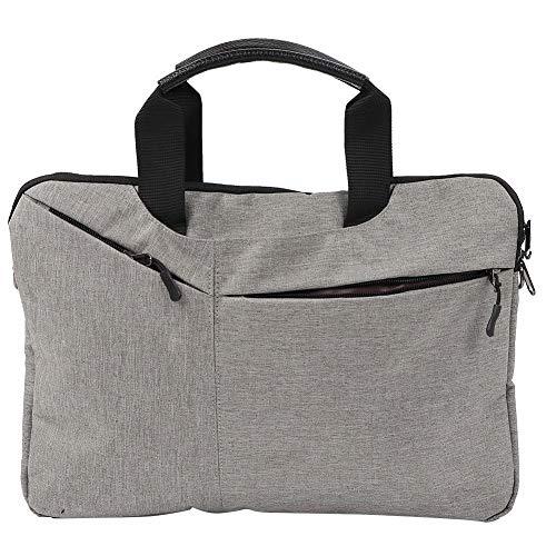 VGEBY1 Laptoptas, 15,5 inch, uniseks, draagbare laptop handtas, individuele schoudertas