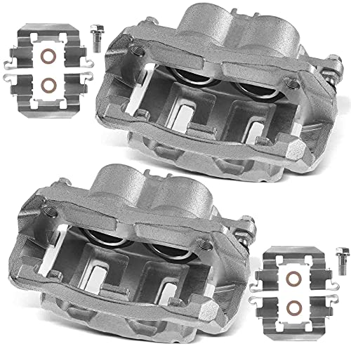 A-Premium Brake Caliper Assembly Compatible with Acura RDX Honda Crosstour Odyssey CR-V 2005-2016 Front Left and Right 2-PC