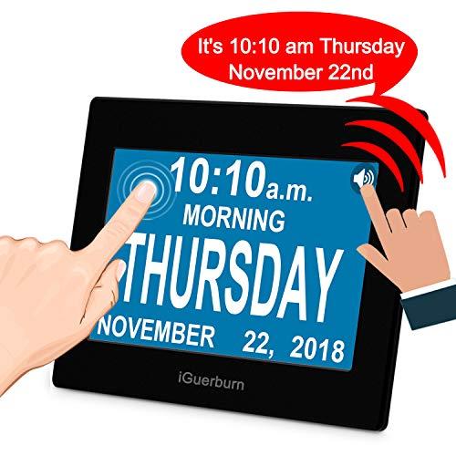 iGuerburn Talking Day Clock