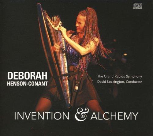 Invention & Alchemy CD by Deborah Henson-Conant with the Grand Rapids Symphony - David Lockington