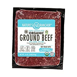 Nature's Rancher, Beef Ground 85/15 Organic Grass Fed Step 4, 16 Ounce