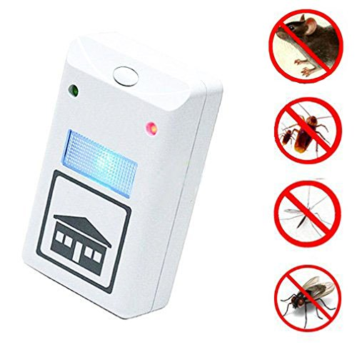 AS SEEN ON TV. Riddex Plus Pest Repeller Control de plagas contra ratón, rata y insectos con construido en luz nocturna