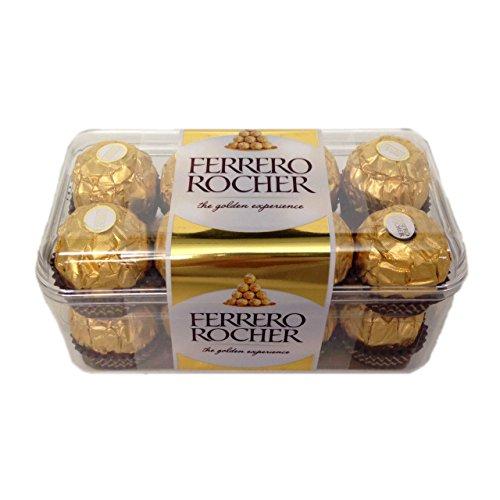 Ferrero Rocher - Caja de Regalo con 16 Piezas - 200g - Caja