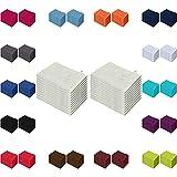 Waschlappen 20er Pack Sparpreis in vielen Farben 15x21 cm 100%