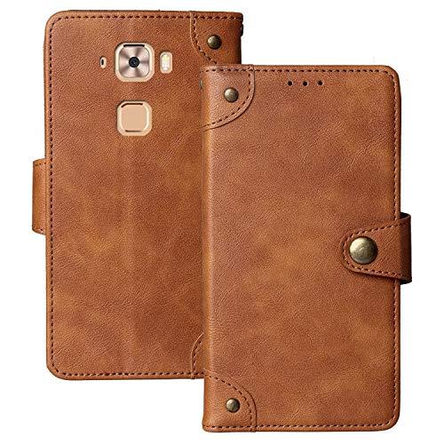 Lankashi Flip Brief Tasche Case Schütz Hülle Für MEDION Life X5520 MD 99607 5.5