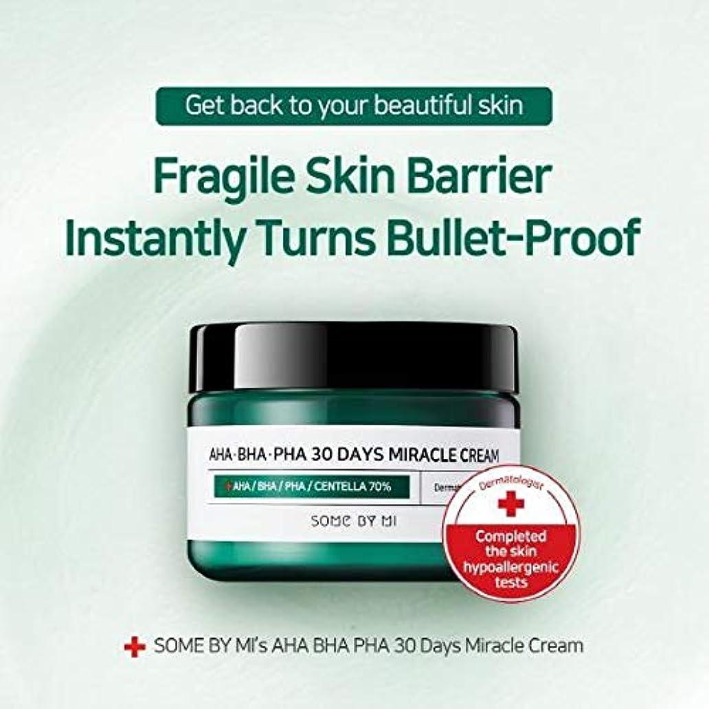 ずるい窒素浜辺Somebymi AHA BHA PHA Miracle Cream 50ml (1.7oz) Skin Barrier & Recovery, Soothing with Tea Tree 10,000ppm for Wrinkle & Whitening/Korea Cosmetics [並行輸入品]